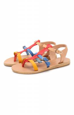 Кожаные босоножки Ancient Greek Sandals GRACE KELLY/BRIGHT MIX
