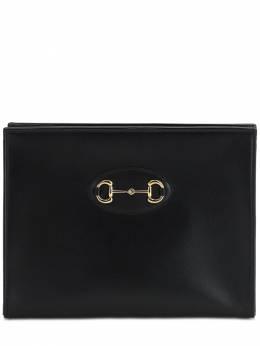 Кожаный Клатч 1955 Horsebit Gg Gucci 71IH0I024-MTAwMA2