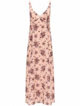 Платье Из Шелка R13 71I4T2011-TElHSFQgUElOSyBMRU9Q0