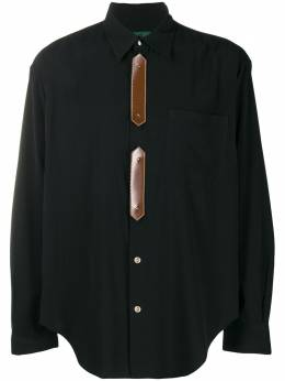 Jean Paul Gaultier Pre-Owned рубашка 1990-х годов со вставками JPG2173