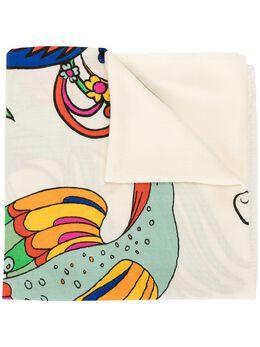 Tory Burch шарф с логотипом 59921