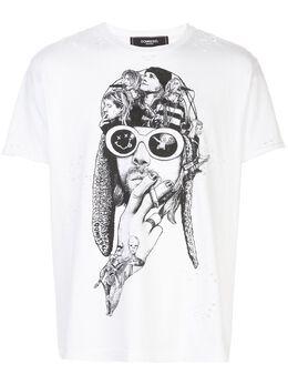 Domrebel футболка Teen Spirit с принтом TEENTW