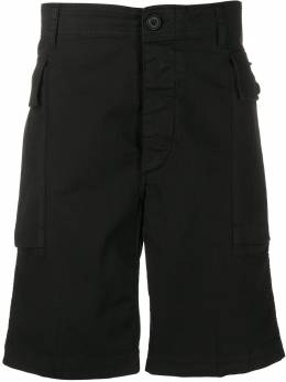 Aries шорты карго с узором в елочку SQAR30090