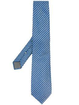 Canali галстук с геометричным узором 18HJ02678