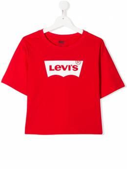 Levi's Kids футболка с круглым вырезом и логотипом E0220
