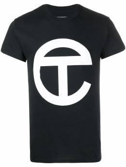 Telfar длинная футболка с логотипом SS20ST09BK