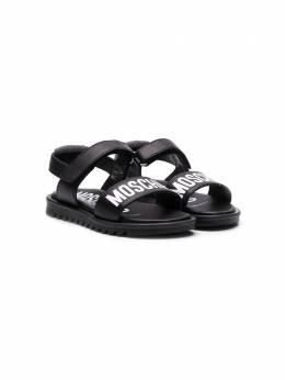 Moschino Kids сандалии с логотипом 63702V2T