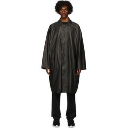 Y-3 Black Travel Raincoat FM1159