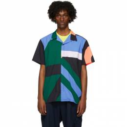 Y-3 Multicolor AOP Resort Short Sleeve Shirt FS4490