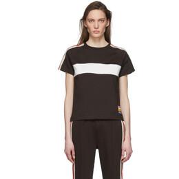 Wales Bonner Brown George T-Shirt WS20JE04-JER400B-880