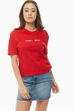 Футболка Tommy Jeans УТ-00276334