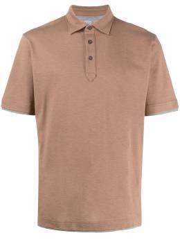 Eleventy рубашка-поло с короткими рукавами A75POLA04TES0A121