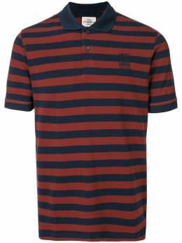 Kent & Curwen полосатая рубашка поло с вышитым логотипом K37H9TM11086