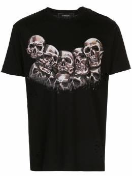 Domrebel футболка Heads с прорезями HEADSTB