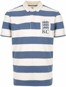 Kent & Curwen рубашка поло с полосатым воротником Питер Пен K37M0TM05038