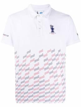 Prada рубашка-поло Valencia Prada x North Sails 452001000C001
