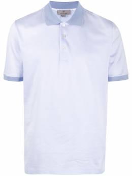 Canali однотонная рубашка-поло T0557MJ00877