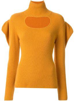 Manning Cartell свитер с оборками и оборками на рукавах 20W11656YLWL