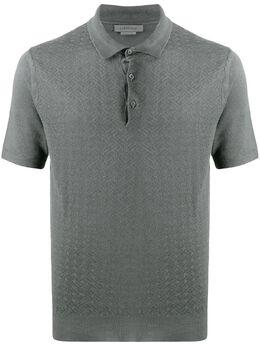 Corneliani трикотажная рубашка-поло 85M5710125146