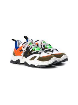 Dsquared2 Kids кроссовки на шнуровке 63538