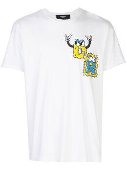 Domrebel футболка Monsters с круглым вырезом MOSTERSTW