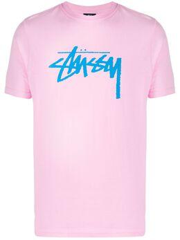 Stussy футболка Stock с логотипом 2903080