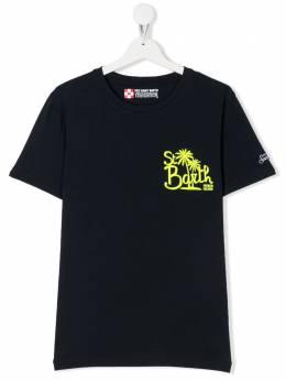 Mc2 Saint Barth Kids футболка с круглым вырезом и логотипом TSHIRTBOYTSBIS61