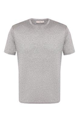 Хлопковая футболка Luciano Barbera 119565/81171