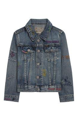 Джинсовая куртка Polo Ralph Lauren 312783770