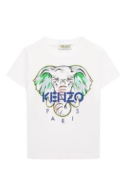 Хлопковая футболка Kenzo KQ10618-BB