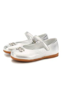 Кожаные балетки Dolce&Gabbana D20057/A6C66/19-28
