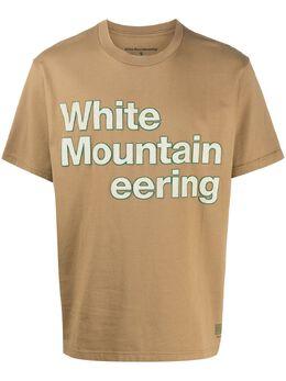 White Mountaineering футболка с логотипом WM2071502