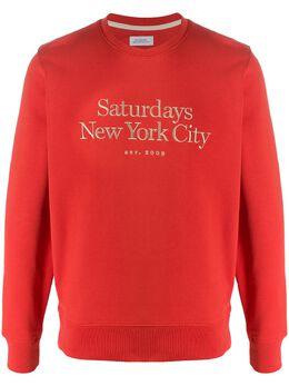 Saturdays Nyc толстовка Bowery Miller M22028BW01