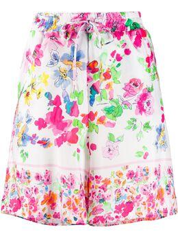 Ermanno Scervino платье с кулиской и цветочным принтом PC12