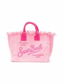 Mc2 Saint Barth Kids сумка-тоут Colette с вышивкой COLETTEEMB27