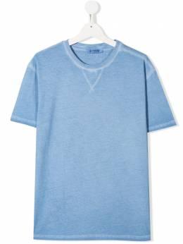 Dondup Kids футболка с нашивкой-логотипом BS135JY0004BBD
