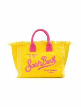 Mc2 Saint Barth Kids сумка-тоут Colette с вышивкой COLETTEEMB97