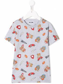 Moschino Kids футболка Toy Bear H6M01ILBB25