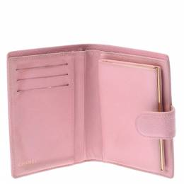 Chanel Pink Caviar Leather Small Bifold Wallet 280188
