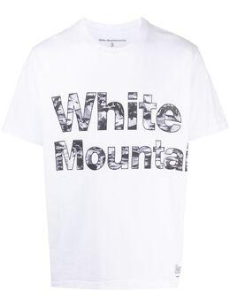 White Mountaineering футболка с логотипом WM2071503