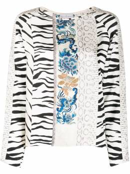 Pierre-louis Mascia блузка в технике пэчворк ALOEUW1006149342154400