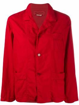 Comme Des Garcons Girl однобортный жакет-рубашка NEB003