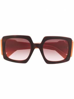 Emilio Pucci солнцезащитные очки в квадратной оправе EP0141
