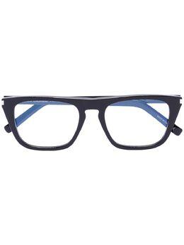 Saint Laurent Eyewear очки с квадратной оправе SL343