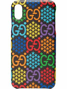 Gucci чехол для iPhone XS Max с принтом GG Psychedelic 603764H23B0