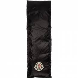 Moncler Black and White Down Scarf E20930000900C0277