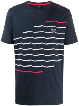 Boss by Hugo Boss футболка с круглым вырезом и логотипом 50426049