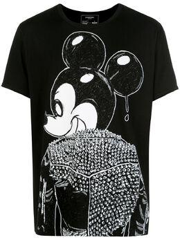 Domrebel футболка с принтом Rebel Mickey Mouse MICKT