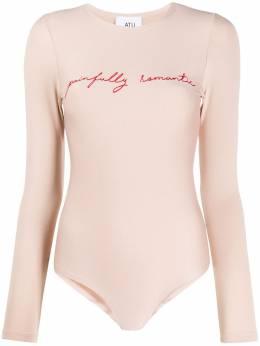 Atu Body Couture боди с вышивкой ATS2052