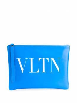 Valentino Garavani клатч с логотипом VLTN TY0P0299CFW